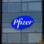 Pfizer shares fall for a second straight session on Wednesday, company plans to expand human trials of experimental COVID-19 vaccine