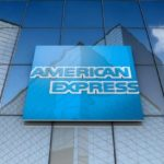 American Express shares close higher, US stocks surge in Wednesday trading