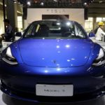 Tesla shares close higher on Wednesday, starting price of China-produced Model 3 sedans cut to 249,900 yuan