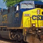 CSX shares close lower on Friday, company announces 3-for-1 stock split